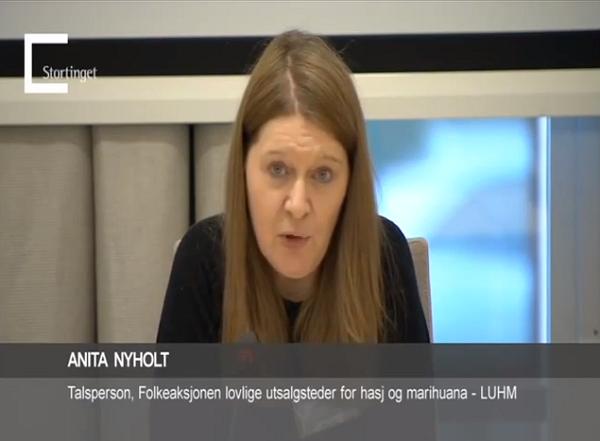 Folkeaksjonen LUHM på Stortinget 2012